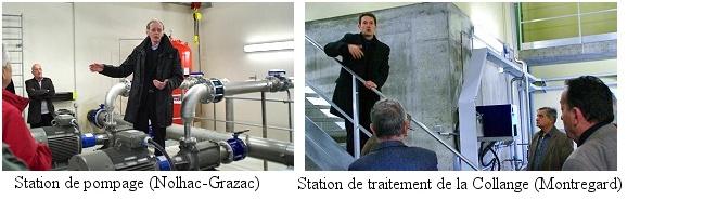 Station de pompage et station de traitement